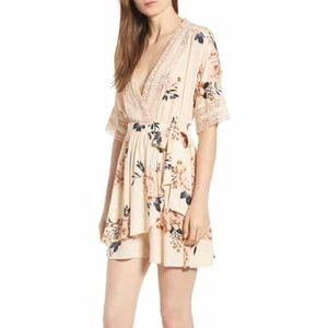 New Nordstrom BP Wrap/Romper Dress